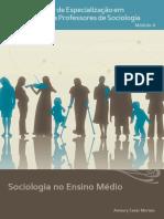 Sociologia No Ensino Medio Tema1