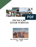 Tecnica de Guiar Turistas (Peru)