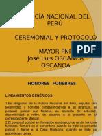 Ceremonial y Protocolo - 14va. Semana