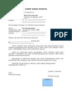 Contoh Surat Kuasa Khusus Polis Asuransi