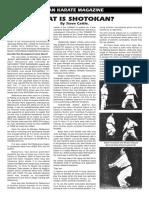 What is Shotokan?