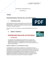 Laboratorio-De-bioquimica 1 - Propiedades Fisicas de Las Proteinas