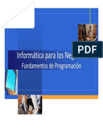Fundamentos de Programación VBA