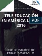 Tele Educacin en Amrica Latina - 2016-ES