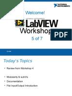 LabVIEW Workshop Presentation