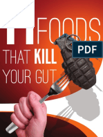 11 Foods That Kill Your Gut F2013PX