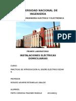 1 Informe Diseño Electrico