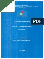 PTK 038 2015 Work Program and Budget Rev. 01
