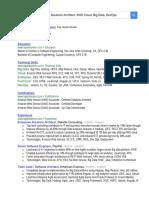 Tapan N Banker Resume tapanbanker.com
