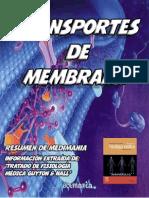 Transporte de Sustancias a Través de La Membrana Celular