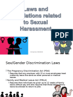 Laws and Regulations Related to Sexual Harassment