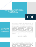 Termodinamica de La Tostacion (1)