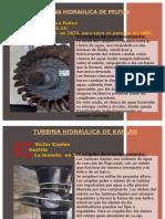 Turbomaquinas, Kaplan y Pelton