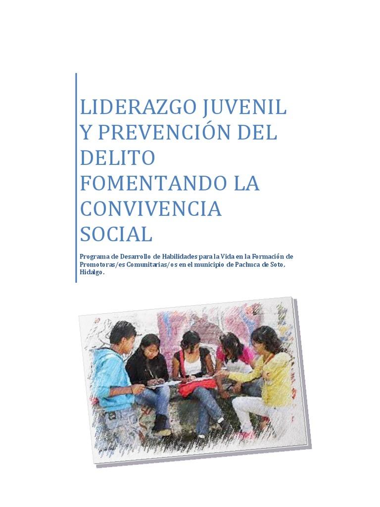 MANUAL PROMOTORES JUVENILES-PREVENCIÓN DEL DELITO- PARA ESCUELAS.pdf
