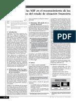 Aplicación de Las NIIF en El Reconocimiento ESD