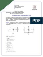 Guia de Simulacion Tres. Circuitos de Segundo Orden