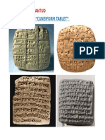 Cuneiform Tablet Pictures
