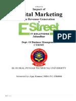 Impact of Digital Marketing on Revenue Generation