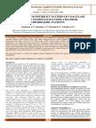 ANTIBIOTICS SUSCEPTIBILITY PATTERN OF COAGULASE NEGATIVE STAPHYLOCOCCI ISOLATES FROM ORTHOPAEDIC PATIENTS