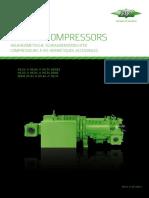 Semi-Hermetic Screw Compressor HSN 53-74