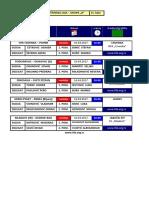 medjuopstinska liga - grupa b - delegiranje - 15  kolo