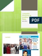 Campaña Electoral de Josefina Vázquez Mota