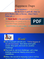 Happiness Traps