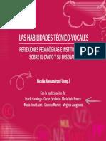 Alessandroni (Comp.) - Las Habilidades Técnico-Vocales [2016] (1)