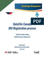 Data DOI
