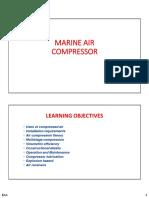 Air Compressor Overall- Component Diagram