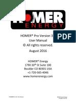 Homer Help Manual