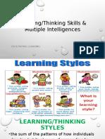 Faci Module5 Learning Styles & Mutiple Intlligence