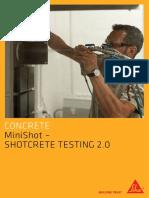 MiniShot Shotcrete Testing 2.0