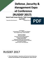 RusDef Presentation  2017