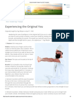 Experiencing the Original You _ Kundalini