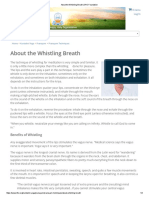 About the Whistling Breath _ Kundalini