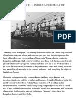 Understanding the Indie Underbelly of Madras