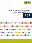 24 Standard Costing and Variance Analysis