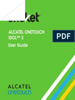 Alcatel Onetouch Idol3 User Guide