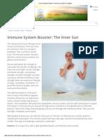 Immune System Booster_ the Inner Sun _ Kundalini