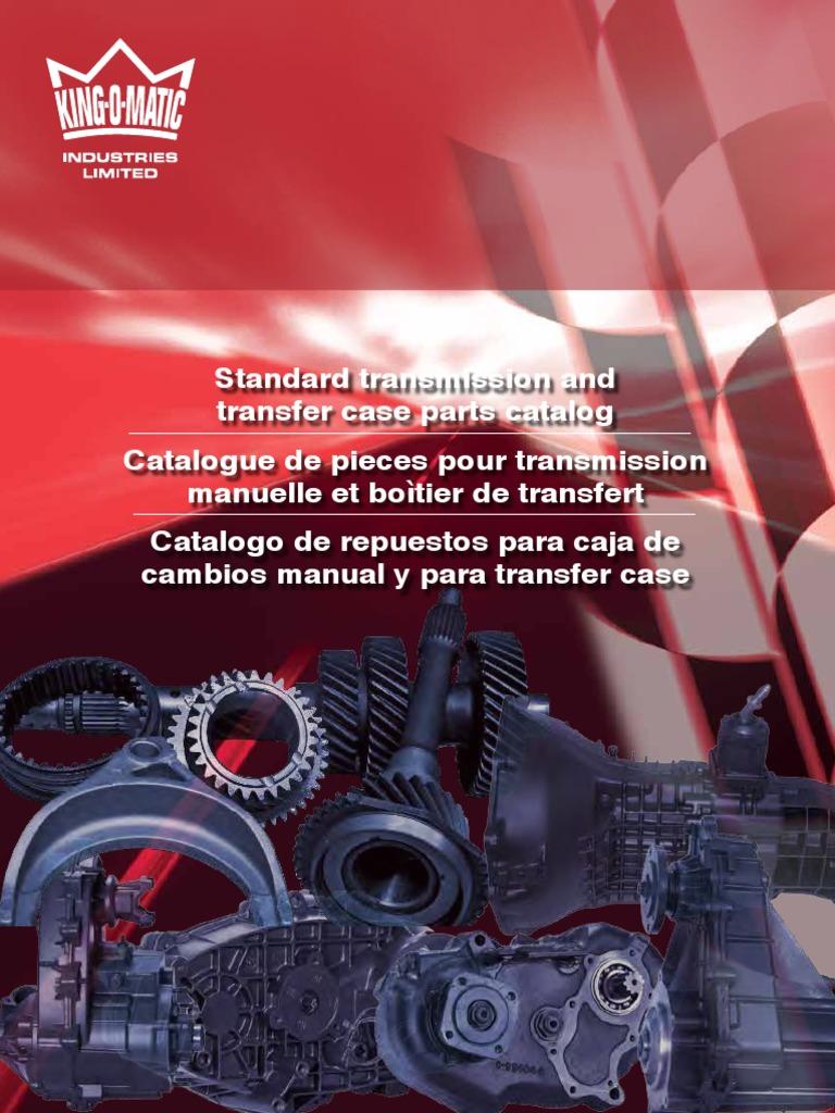 Manual-Trans-and-Transfer-Case-Parts-Catalogue pdf | Manual