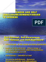 Lect 2 (2013) - Self Awareness & Self-Disclosure Copy