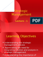 Lec 01 Strategic Management Virtual University