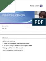 DWDM Operation Alcatel