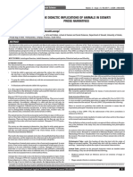 THE DIDACTIC IMPLICATIONS OF ANIMALS IN SISWATI PROSE NARRATIVES