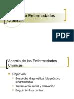 Anemia de Enfermedades Crónicas