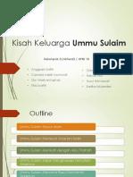 Kisah Keluarga Ummu Sulaim