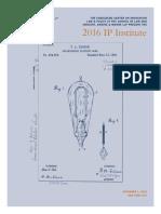 2016 IP Institute Agenda