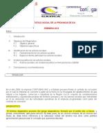 Diagnóstico Social de La Provincia de Ica Eli