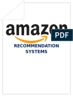 RecommenderSystem Amazon